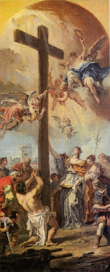Exaltation of the True Cross | Sebastiano Ricci | oil painting