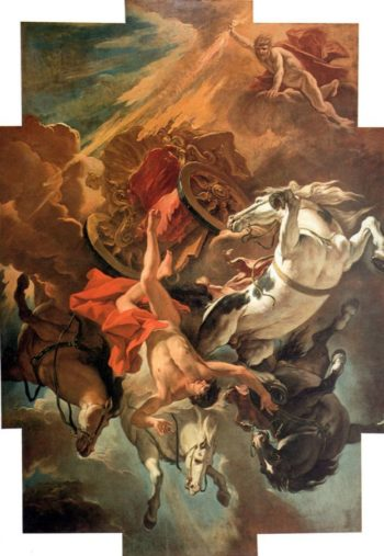 Fall of Phaeton | Sebastiano Ricci | oil painting