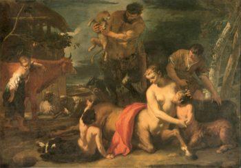 Family of Centaurs | Sebastiano Ricci | oil painting