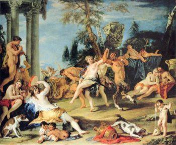 Feast in Honour of Pan | Sebastiano Ricci | oil painting