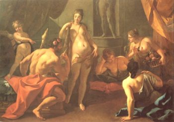Hercules and Omphale | Sebastiano Ricci | oil painting