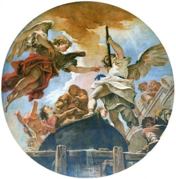 Miraculous Arrival of the Statue of Madonna | Sebastiano Ricci | oil painting