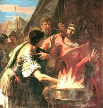 Muzio Scevola | Sebastiano Ricci | oil painting