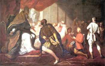 Paul III Appointing His Son Pier Luigi to Duke of Piacenza and Parma | Sebastiano Ricci | oil painting