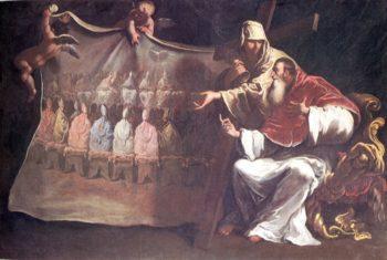 Pope Paul III Proclaims | Sebastiano Ricci | oil painting
