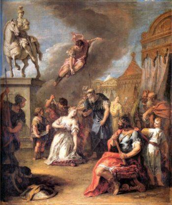 Sacrifice of Polissena | Sebastiano Ricci | oil painting