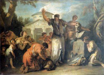 Sacrifice to Silenus | Sebastiano Ricci | oil painting