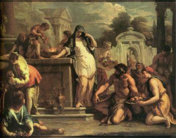 Sacrifice to Vesta | Sebastiano Ricci | oil painting