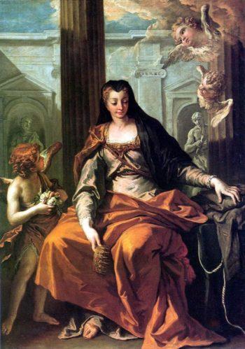 St Elisabeth of Hungary | Sebastiano Ricci | oil painting