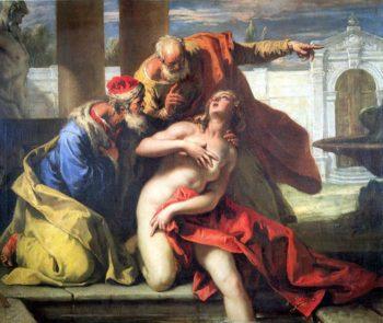 Susanna and the Elders | Sebastiano Ricci | oil painting