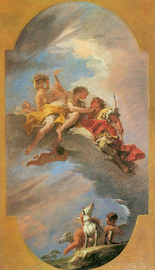 Venus and Adonis | Sebastiano Ricci | oil painting
