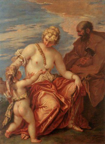 Venus Cupid and Vulcan | Sebastiano Ricci | oil painting