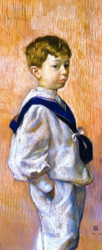 Antoine Braun | Theo van Rysselberghe | oil painting