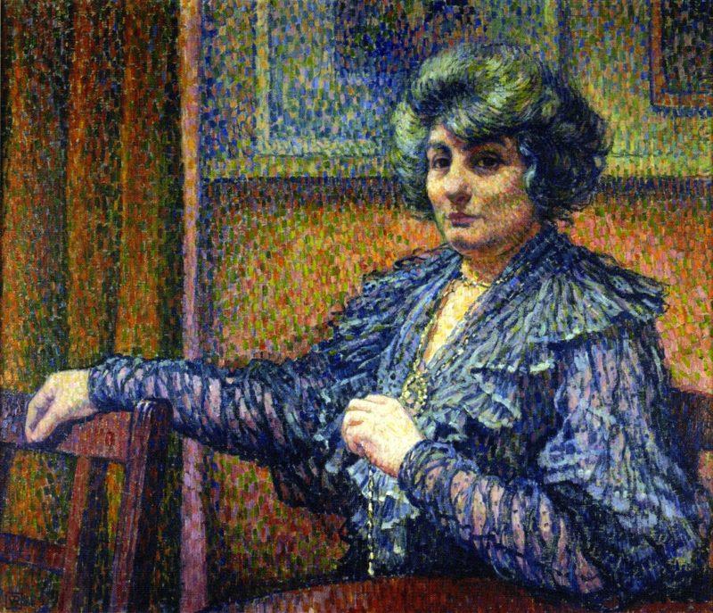 Berthe Signac   Theo van Rysselberghe   oil painting