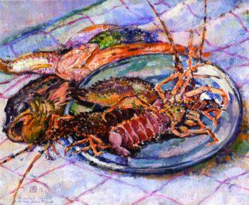 Bouillabaisse | Theo van Rysselberghe | oil painting