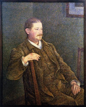 Dr August Weber | Theo van Rysselberghe | oil painting
