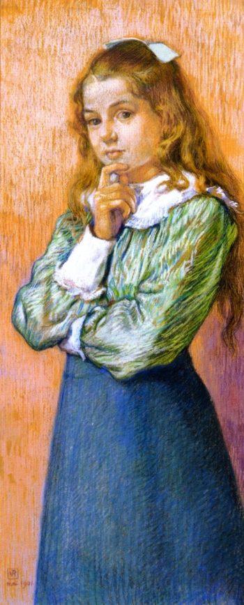 Ida Braun | Theo van Rysselberghe | oil painting