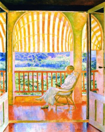 June Afternoon | Theo van Rysselberghe | oil painting