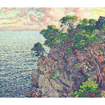 La Pointe du Rossignol | Theo van Rysselberghe | oil painting