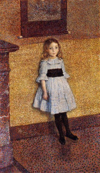 Little Denise | Theo van Rysselberghe | oil painting