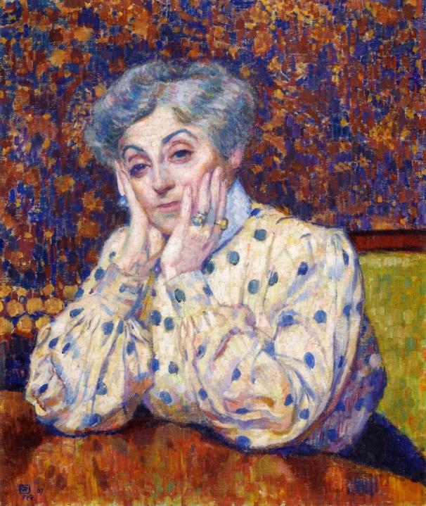 Madame Theo van Rysselberghe | Theo van Rysselberghe | oil painting