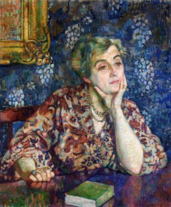 Maria van Rysselberghe in Jersey | Theo van Rysselberghe | oil painting