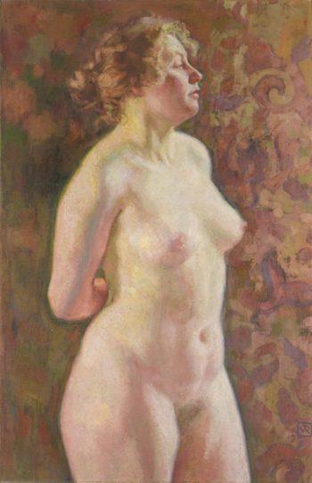 Nu debout | Theo van Rysselberghe | oil painting