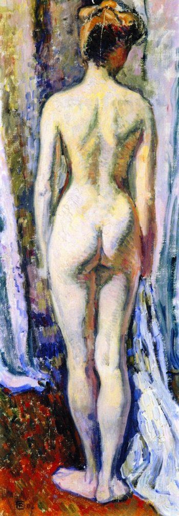 Nude Study | Theo van Rysselberghe | oil painting