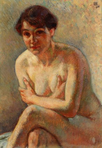 Nude Woman | Theo van Rysselberghe | oil painting