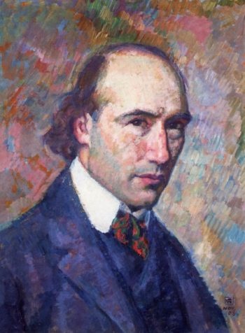 Portrait of Andre Gide | Theo van Rysselberghe | oil painting