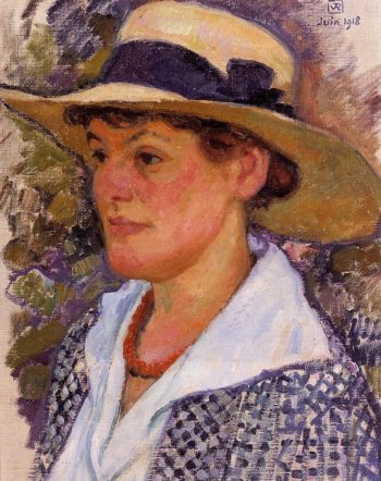 Portrait of a Woman | Theo van Rysselberghe | oil painting
