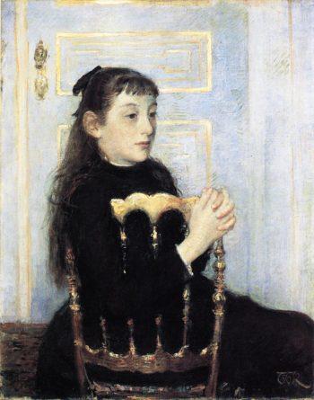 Portrait of Camille van Mons | Theo van Rysselberghe | oil painting