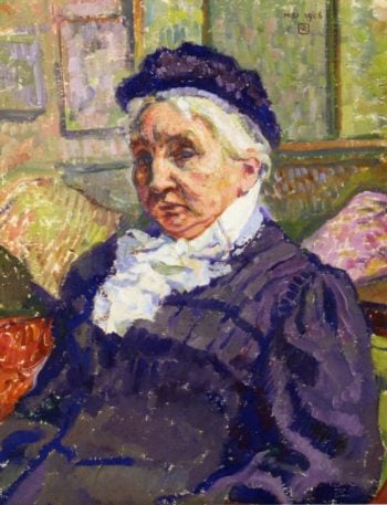 Portrait of Madame Monnon | Theo van Rysselberghe | oil painting
