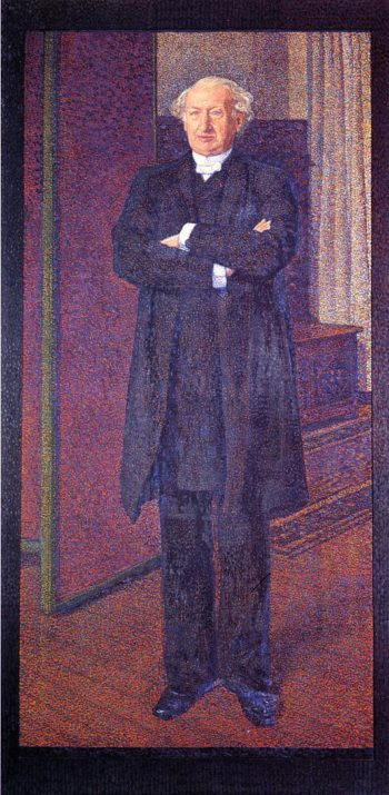 Portrait of Michel van Mos | Theo van Rysselberghe | oil painting