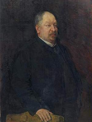 Portrait of Mr Camille Laurent | Theo van Rysselberghe | oil painting