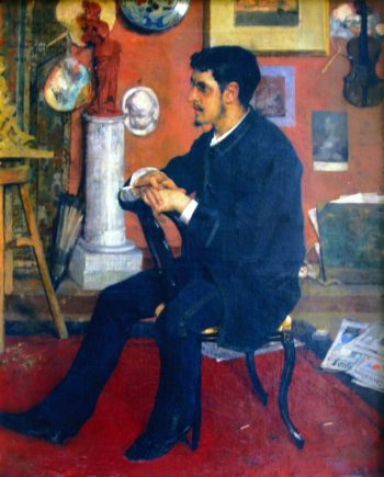Portrait of My Friend Georges | Theo van Rysselberghe | oil painting