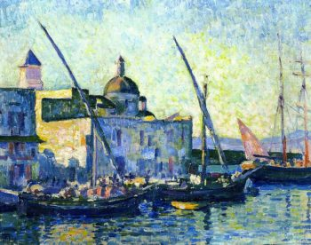 Puzzuoli | Theo van Rysselberghe | oil painting