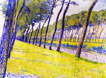 Study for Canal in Flanders | Theo van Rysselberghe | oil painting