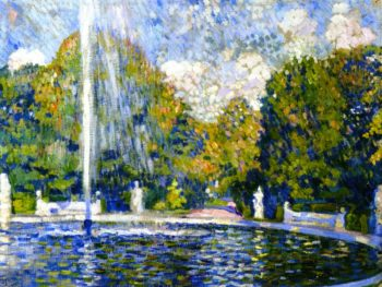 Study for Fountain | Theo van Rysselberghe | oil painting