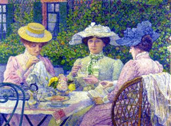 Summer Afternoon | Theo van Rysselberghe | oil painting