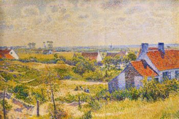 Summer Landscape of the Moor | Theo van Rysselberghe | oil painting