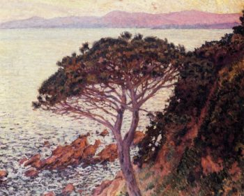 Sunset | Theo van Rysselberghe | oil painting