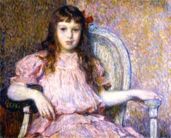 Sylvie Lacombe | Theo van Rysselberghe | oil painting