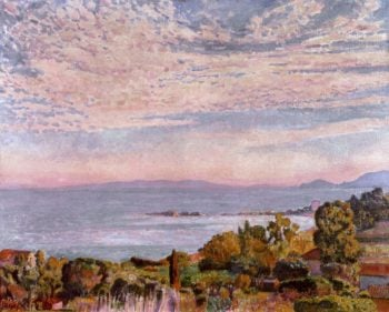 The Bay of Saint Clair | Theo van Rysselberghe | oil painting