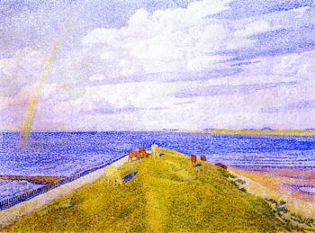 The Rainbow | Theo van Rysselberghe | oil painting