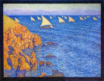 The Regata | Theo van Rysselberghe | oil painting