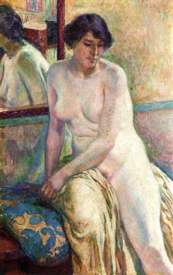 Venetian Woman I | Theo van Rysselberghe | oil painting