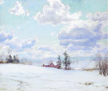 Cloud Shadows | Walter Launt Palmer | oil painting