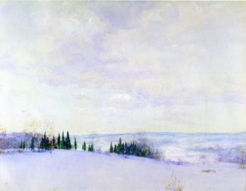 Connecticut Hills | Walter Launt Palmer | oil painting