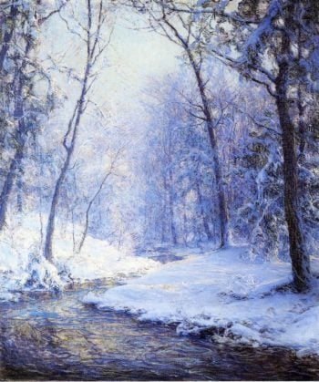 Early Snow | Walter Launt Palmer | oil painting